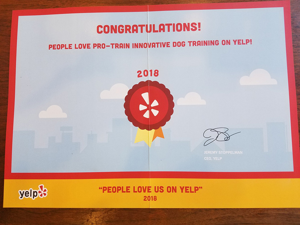 Heads up! We Received Some Good News from Yelp
